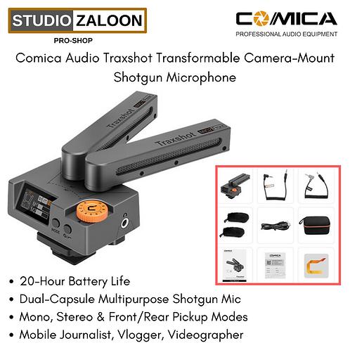 Comica Audio Traxshot Transformable Camera-Mount Shotgun Microphone