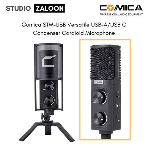 Comica STM-USB Versatile USB-A/USB C Condenser Cardioid Microphone