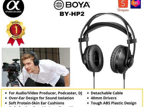 BOYA BY-HP2 Over-Ear Monitor Headphones