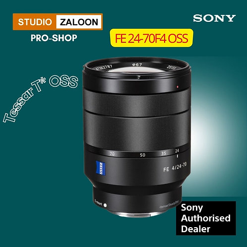 Sony FE 24-70mm f/4 ZA OSS +INSTANT CASH BACK