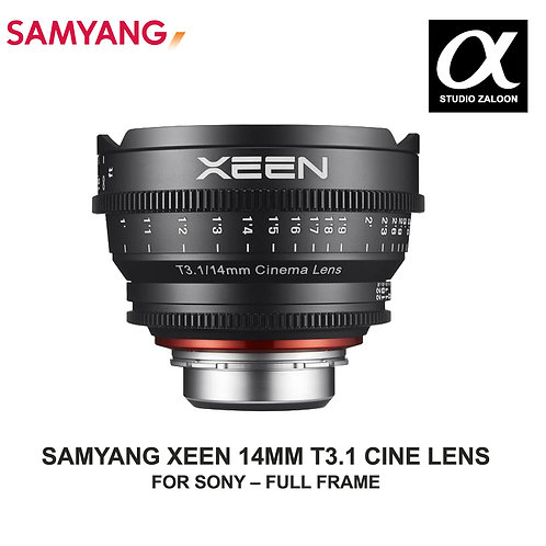[PRE-ORDER 5 WEEKS] Samyang Xeen 14mm T3.1 Lens for Sony-E Mount