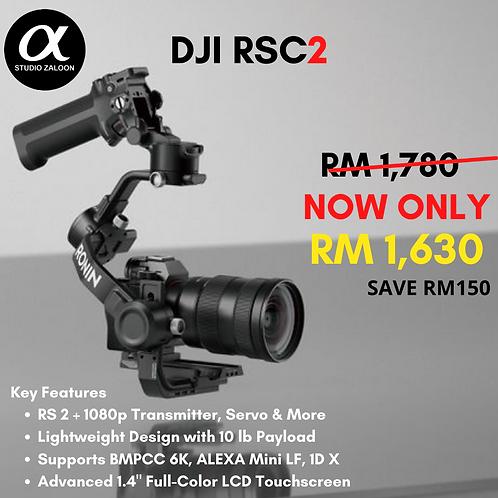 DJI RSC 2 Gimbal Stabilizer