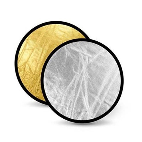 60cm 2 in 1 Reflector Silver/Gold