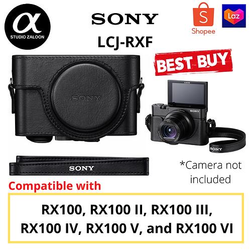Sony LCJ-RXF Premium Jacket Case for Cyber-shot