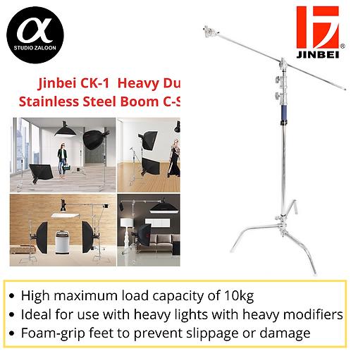 Jinbei CK-1  Heavy Duty Stainless Steel Boom C-Stand
