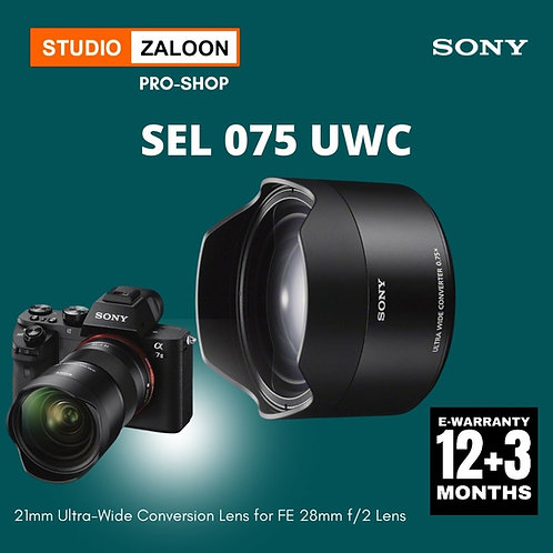 Sony SEL-075UWC Ultra-Wide Conversion Lens for FE 28 f/2 Lens