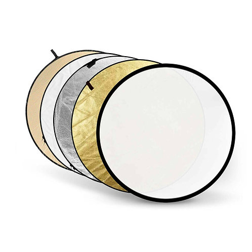 80cm 5 in 1 Round Shaped Foldable Reflector