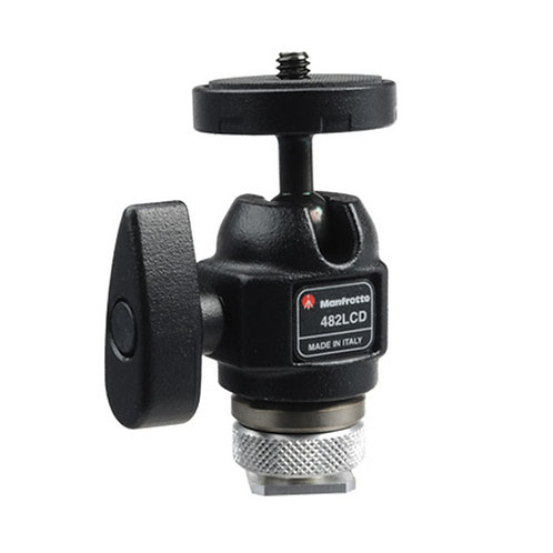 [Pre Order 2 weeks ]Manfrotto 482 LCD Micro Ball Head