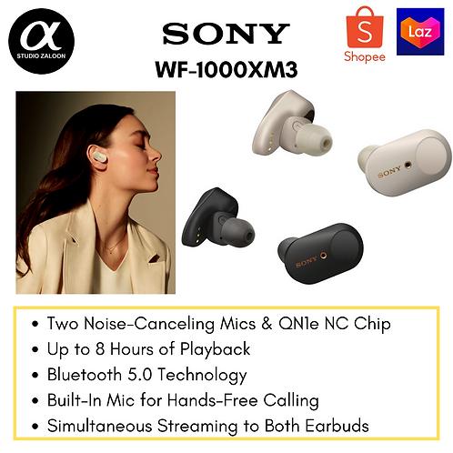 Sony WF-1000XM3 True Wireless Noise-Canceling In-Ear Earphones