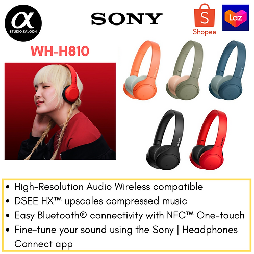 Sony WH-H810 h.ear on 3 Mini Wireless Headphones