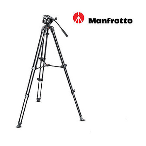 [Pre-Order 3 weeks]Manfrotto MVH500A Fluid Drag Video Head with MVT502AM Tripod