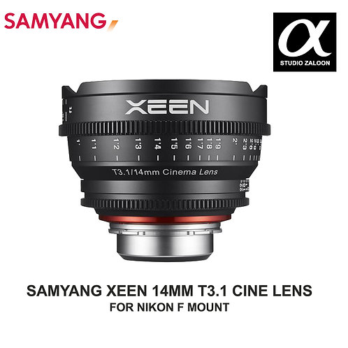 [PRE ORDER 5 WEEKS]  Xeen 14mm T3.1 Lens for Nikon F Mount