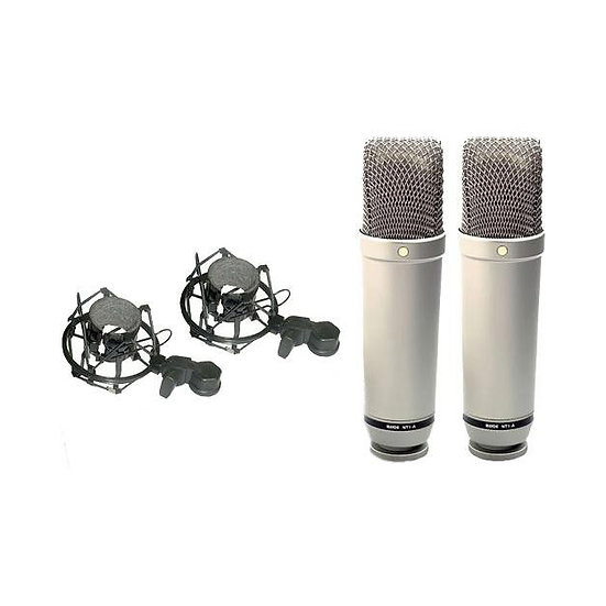 Rode NT1-A Large Diaphragm Microph (Matched Pair)