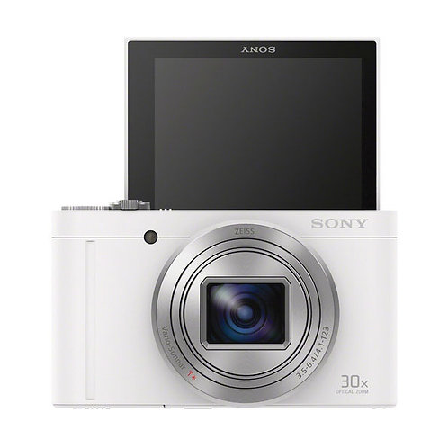 Sony  DSC-WX500 White Digital Camera (White)