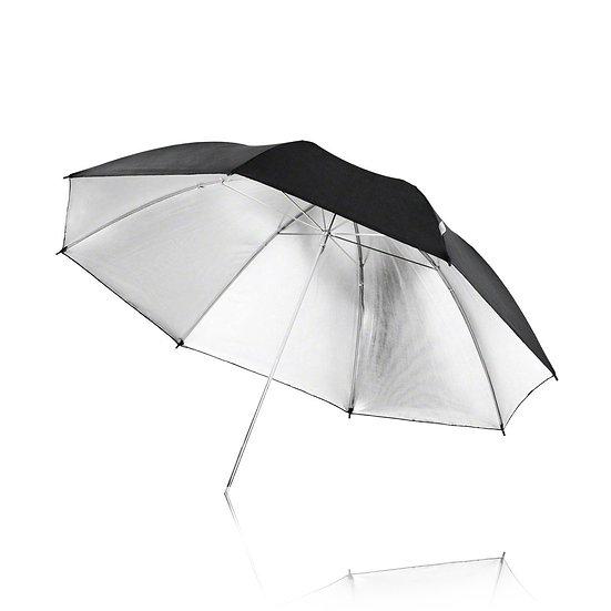 "33"" ( 84CM ) Silver Umbrella"