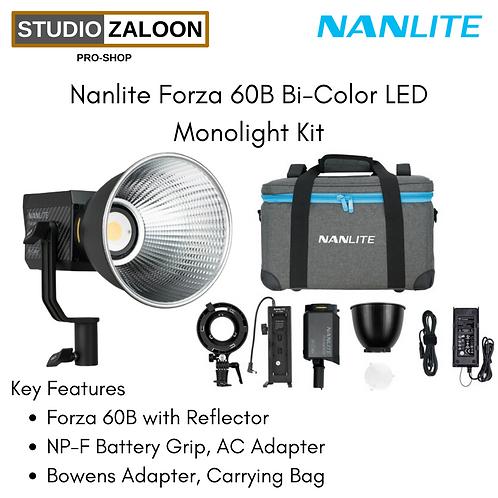 Nanlite Forza 60B Bi-Color LED Monolight Kit