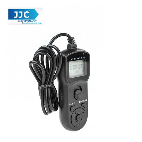 JJC TM-C Wire LCD Timer Remote Control for Canon