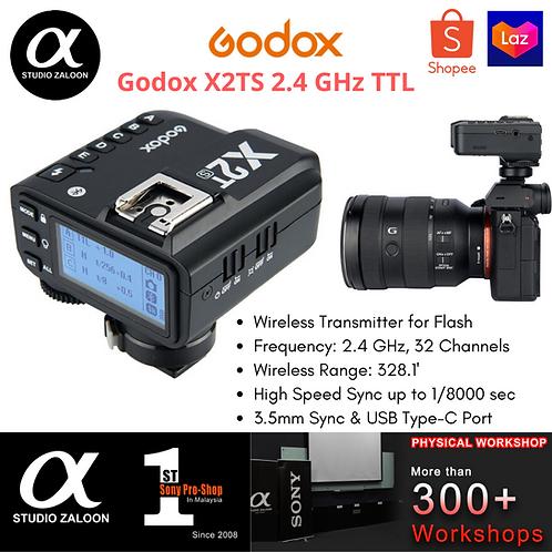 GODOX X2T TTL HSS WIRELESS FLASH TRANSMITTER SONY