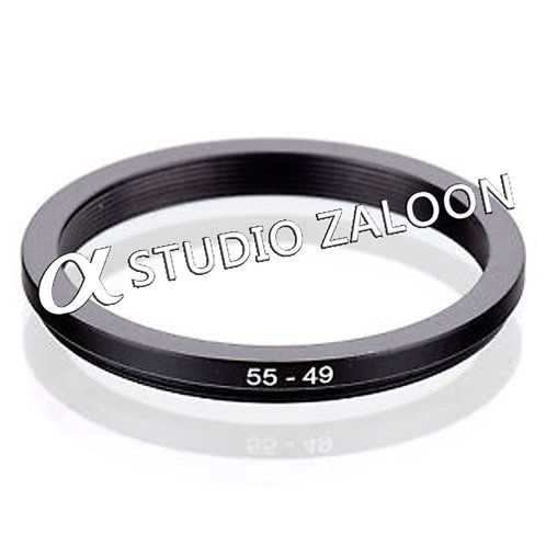 55-49mm Step-Down Ring