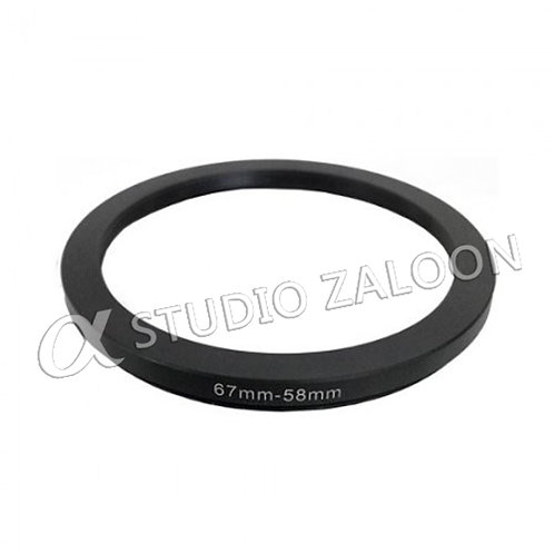 67-58mm Step-Down Ring