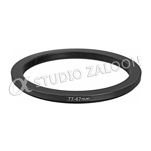 77-67mm Step-Down Ring