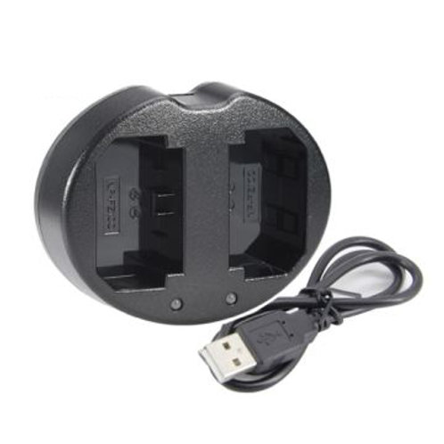 Dual USB Battery Charger for Sony NP-FZ100