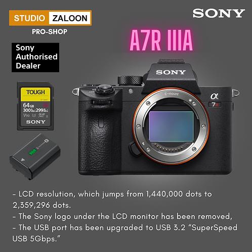 Sony Alpha a7R IIIA Mirrorless Digital Camera (Body Only)Sony Alpha a7R IIIA Mir