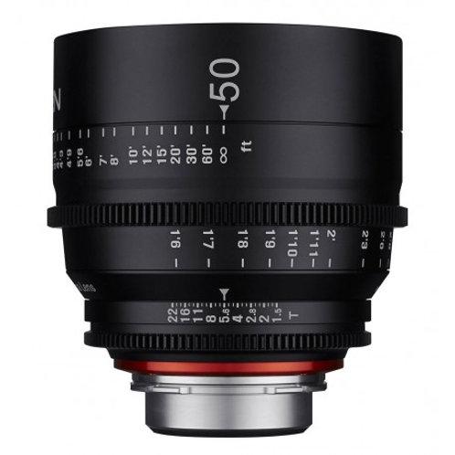 [PRE-ORDER 5 WEEKS] Samyang XEEN 50mm T1.5-CANON  Cine Lens-CANON