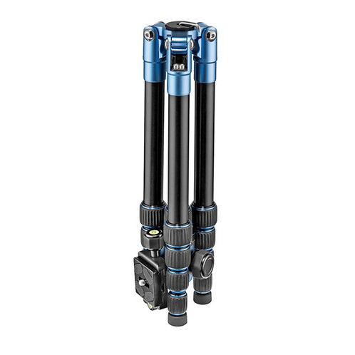 Manfrotto ELEB5BL-BH Element Big Aluminum Traveler Tripod (Blue)