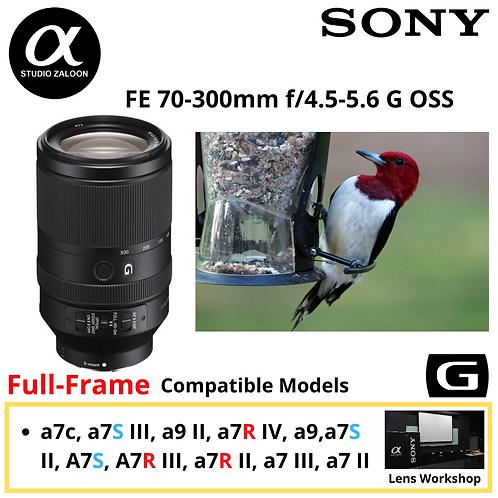 Sony FE 70-300mm f/4.5-5.6 G OSS  FE70300G