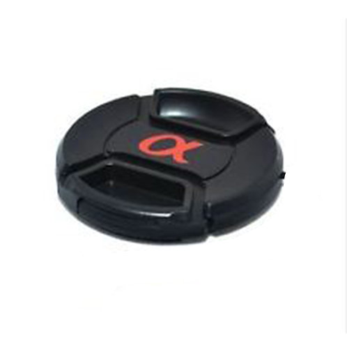 49mm Snap-On Lens  Cap  (With Alpha Logo)