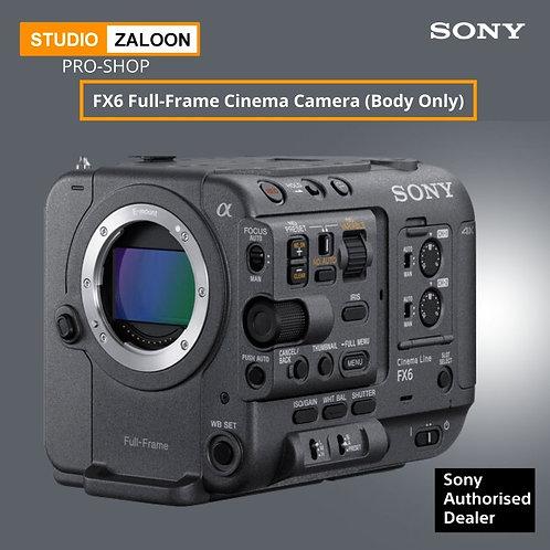Sony FX6 Full-Frame Cinema Camera (Body Only) ( Pre-Order Only )