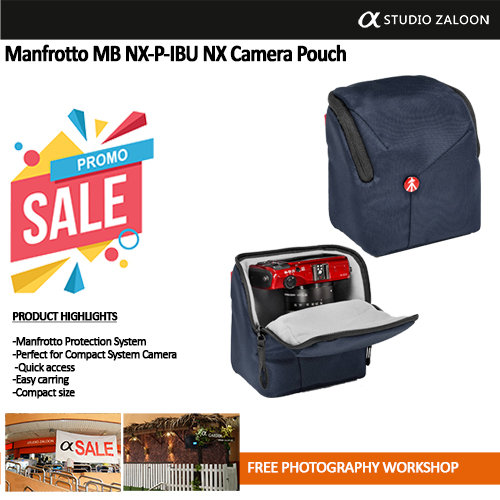 Manfrotto MB NX-P-IBU NX camera pouch I Blue for CSC
