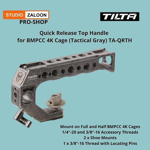 Tilta Quick Release Top Handle for BMPCC 4K Cage (Tilta Gray)