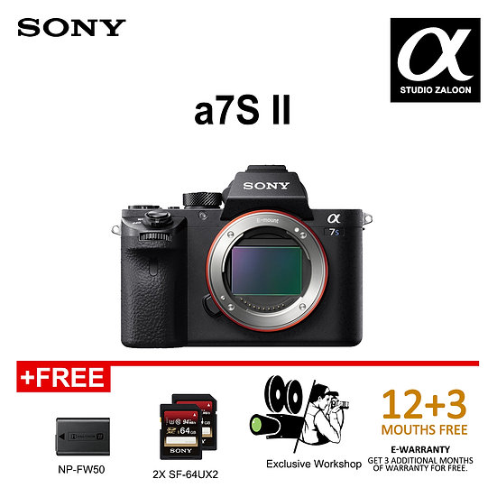 Sony A7Sii camera body only