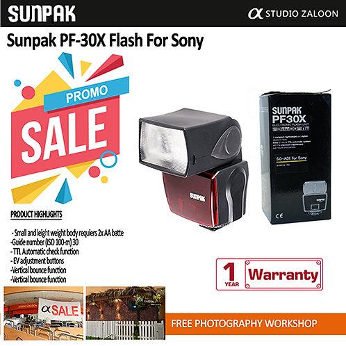 Sunpak PF-30X Flash For Sony