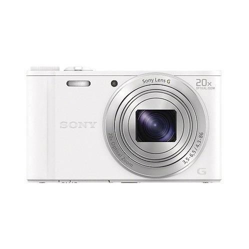 Sony  DSC-WX350 Digital Camera (White)