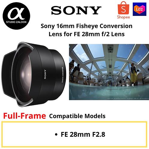 Sony SEL-057FEC Fisheye Conversion Lens for FE 28mm f/2 Lens