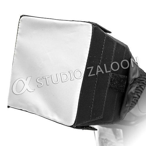 a-Pro Soft Cloth Flash Diffuser-Foldable White+ Black