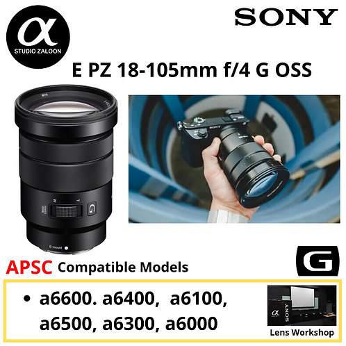 Sony E PZ 18-105mm f/4 G OSS  SELP18105G