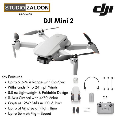 DJI Mini 2 – Ultralight Foldable 3-Axis Gimbal 4K Camera Drone