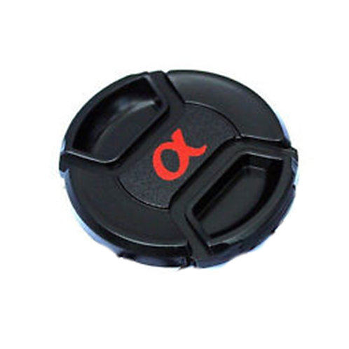 62mm Snap-On Lens Cap (With Alpha Logo)