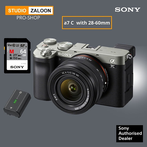 A7CL ( Silver ) 28-60mm Lens WITH EXTRA BATTERY