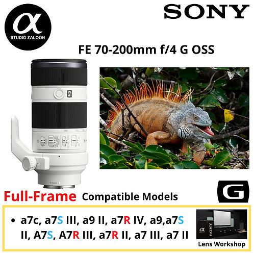 Sony FE 70-200mm f/4.0 G OSS Lens FE70200G