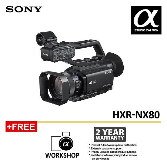 [Pre-Order 5 Weeks ]Sony HXR-NX80 Full HD XDCAM