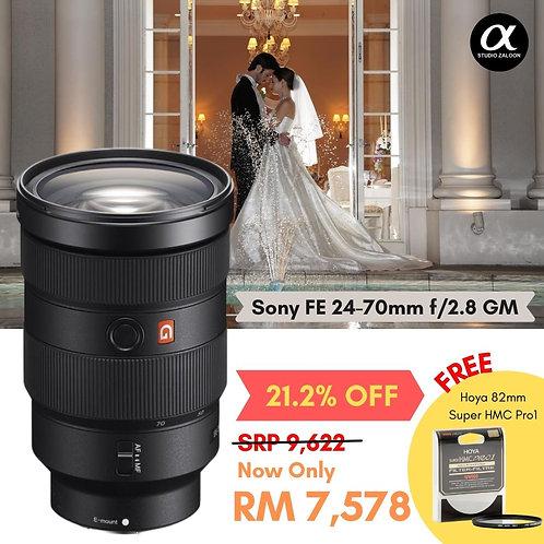 Sony FE 24-70mm f/2.8 GM Lens FE2470GM With HOYA Super HMC Pro1