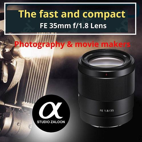 Sony FE 35mm F1.8F Lens CARE KIT