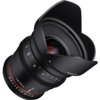 [PRE-ORDER 3 WEEKS] Samyang 20mm T1.9 VDSLR ED AS IF UMC Lens For SONY E