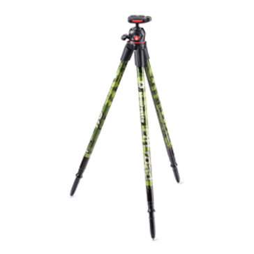 Manfrotto MKOFFROADG Off road Aluminum Tripod with Ball Head (Green)