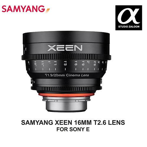 [PRE-ORDER 5 WEEKS] SAMYANG XEEN 20MM T1.9 CINE LENS FOR SONY E